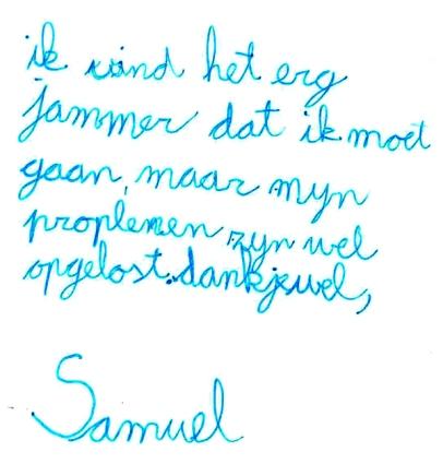 Samuel, 10 jaar
